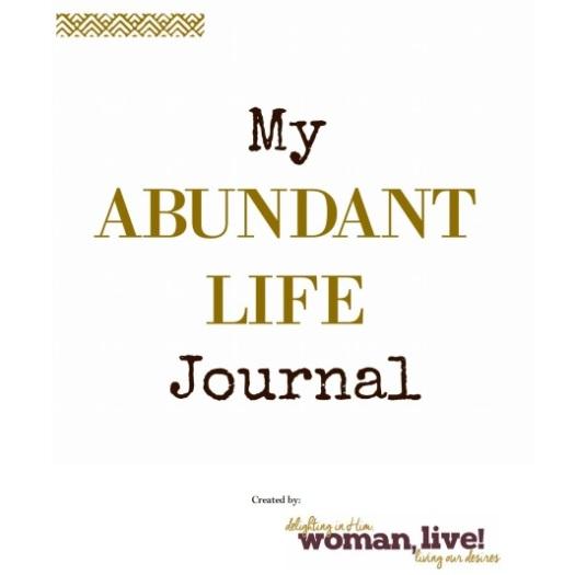 ABUNDANT LIFE JOURNAL